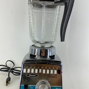 Osterizer Galaxie CYCLOMATIC Blender Chrome Metal
